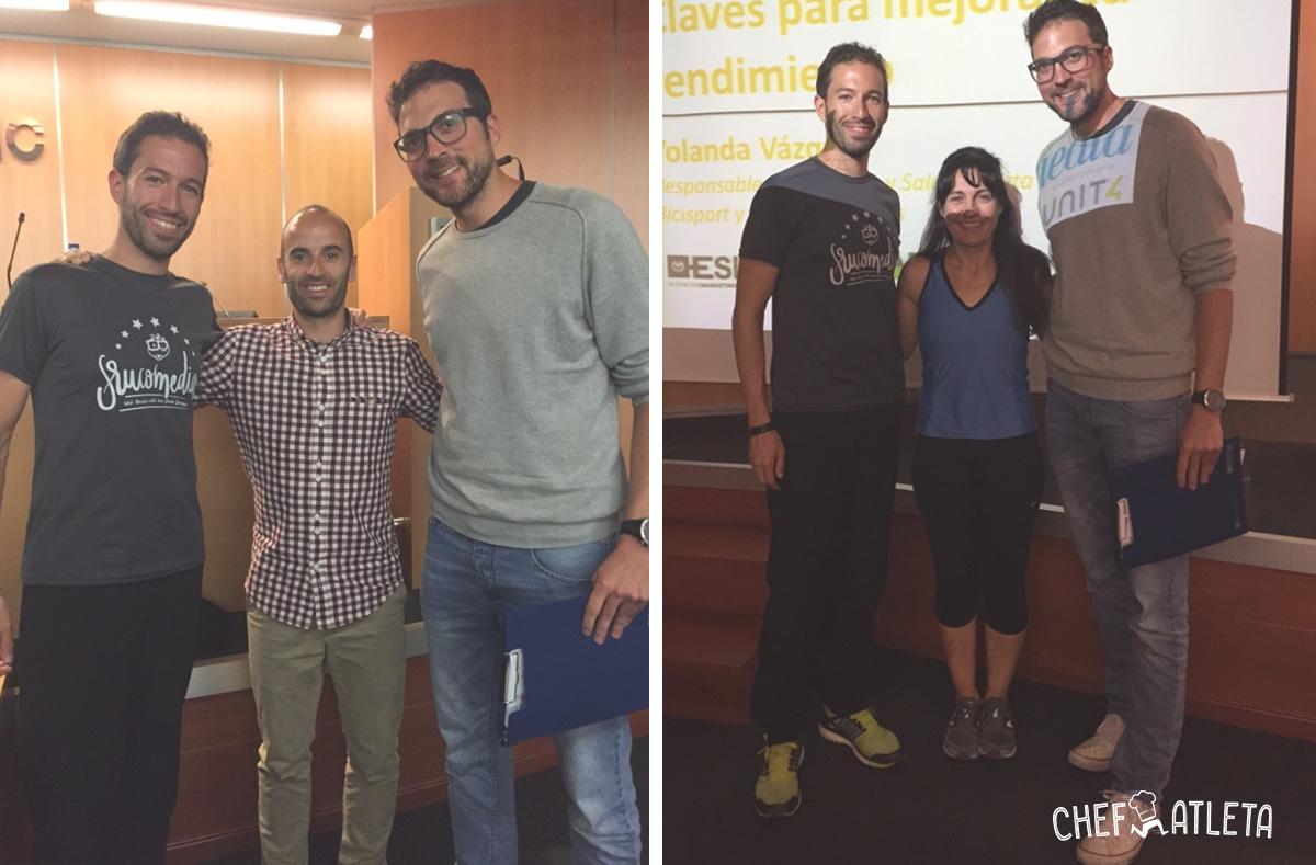 Nutrición y Running en ESIC Zaragoza - David y Jesús