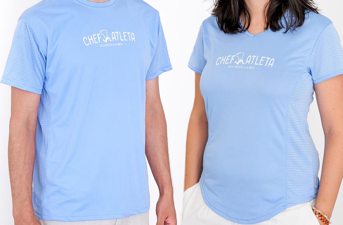 Camisetas Chefatleta