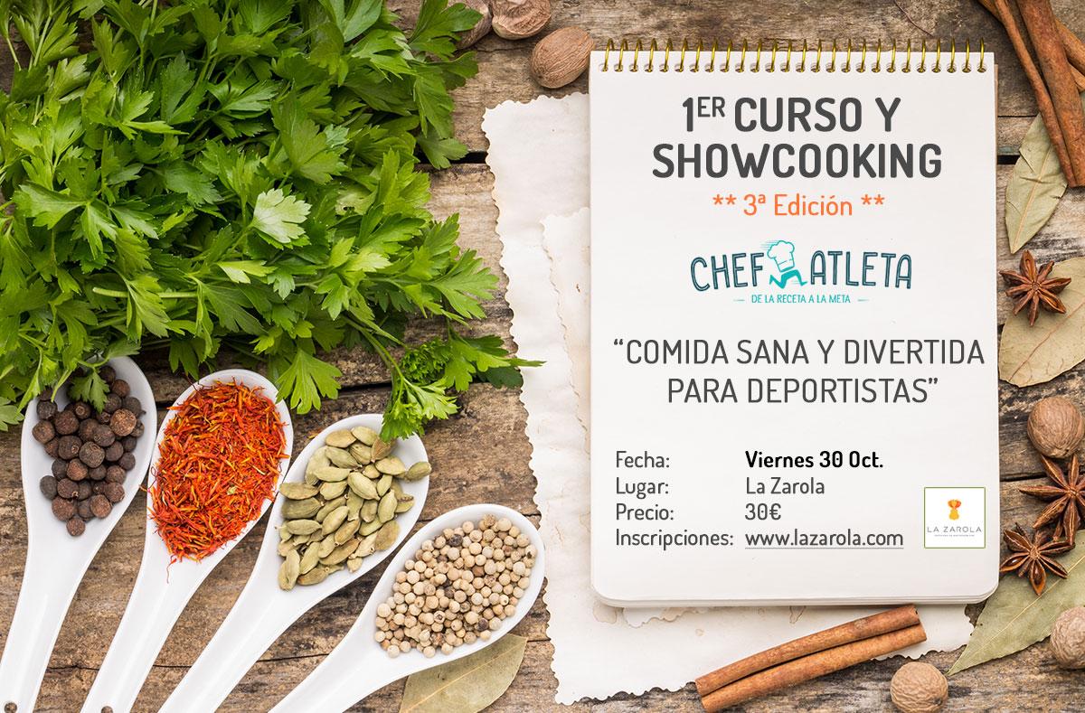 Curso de cocina sana y divertida para deportistas zaragoza - Cursos de cocina zaragoza ...
