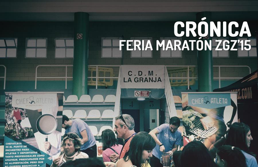 Crónica – Feria del Corredor del Maratón de Zaragoza 2015