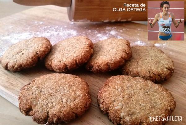 Cookies Veganas de Coco, Avena y Plátano