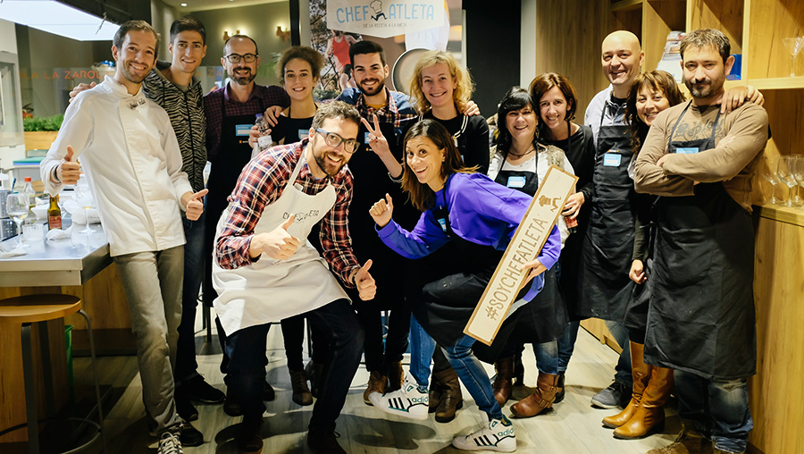 Grupo Cursos Cocina Divertida para Deportistas