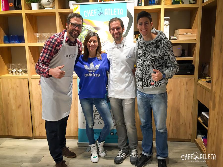 Isabel Macías y Luis Alberto Marco - Cursos Cocina para Deportistas
