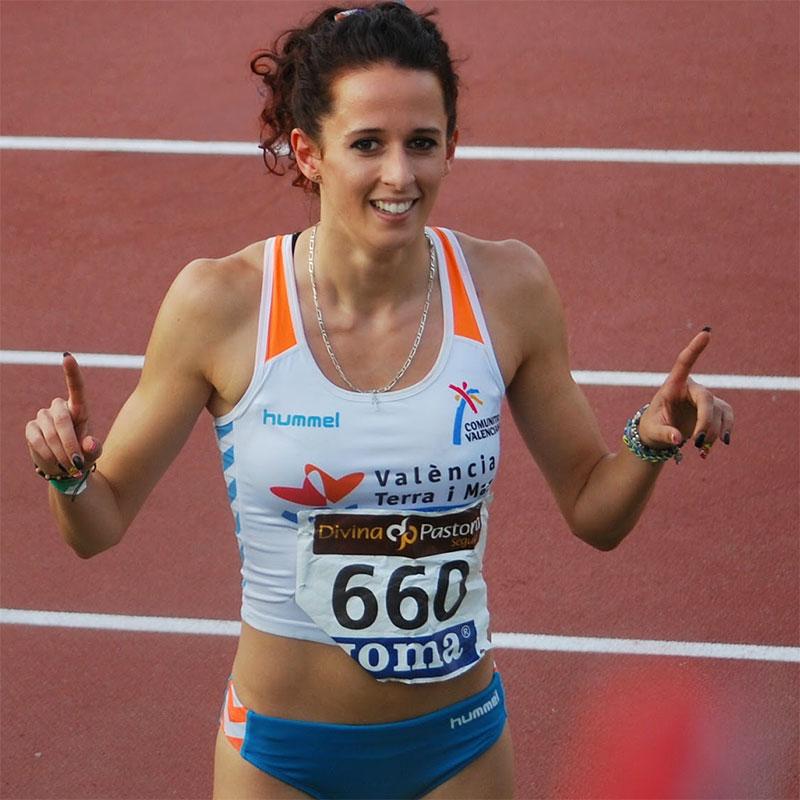 Olga Ortega - Atleta