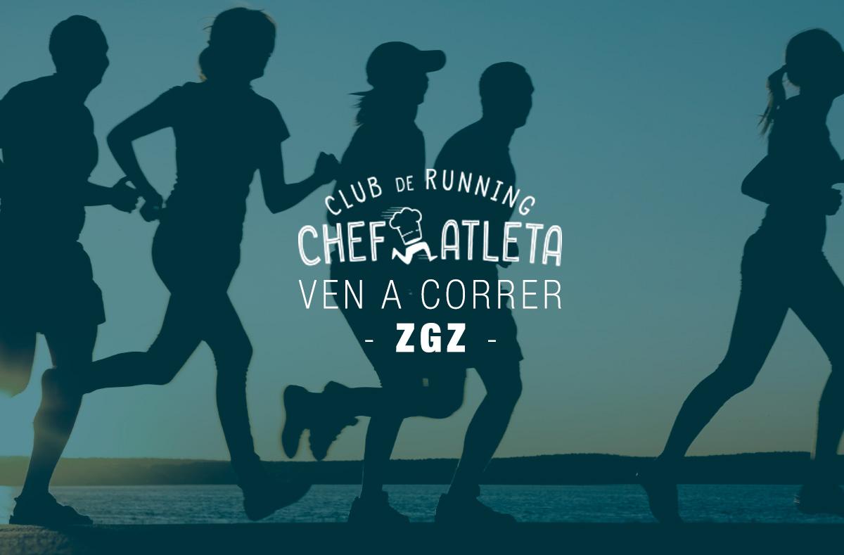 Presentación del Club de Running Chefatleta en Zaragoza