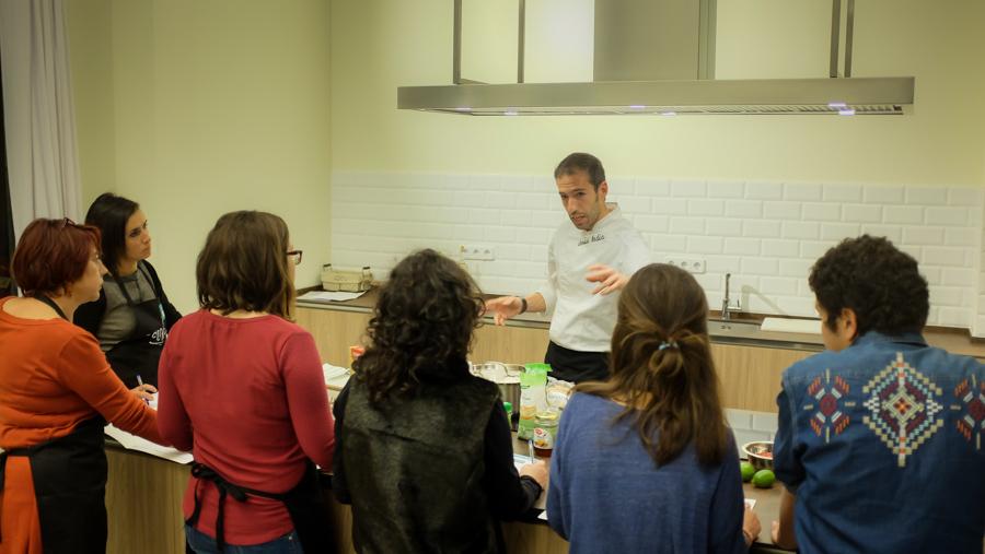 Crónica del Curso Cocina para Deportistas #JUSTDOEAT en Madrid