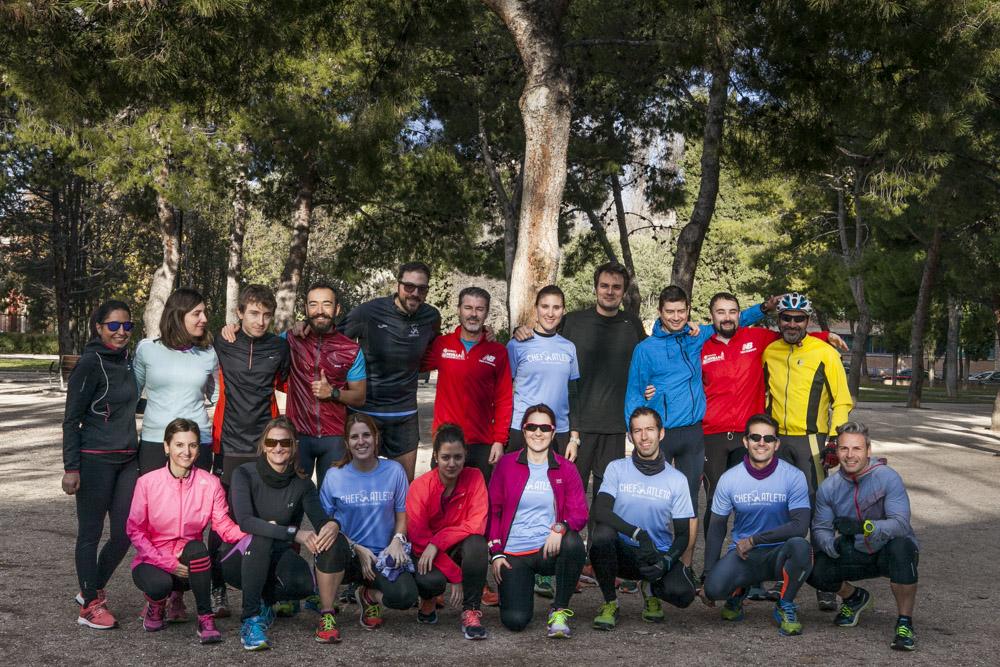 Primera quedada del Club de Running Chefatleta
