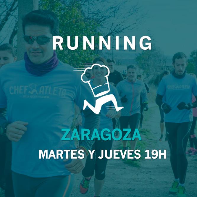 Grupos de entrenamiento Running - Zaragoza - Martes y Jueves