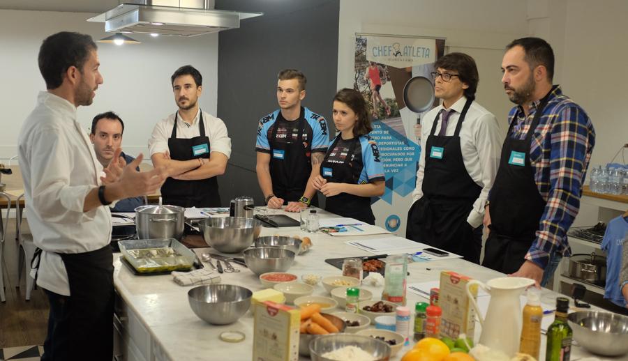 Curso cocina para deportistas Barcelona 5