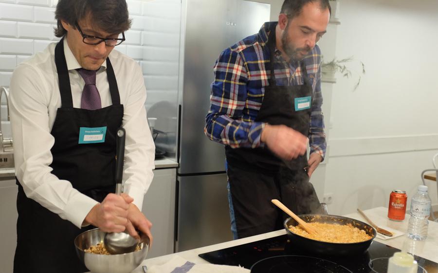 Curso cocina para deportistas Barcelona 22