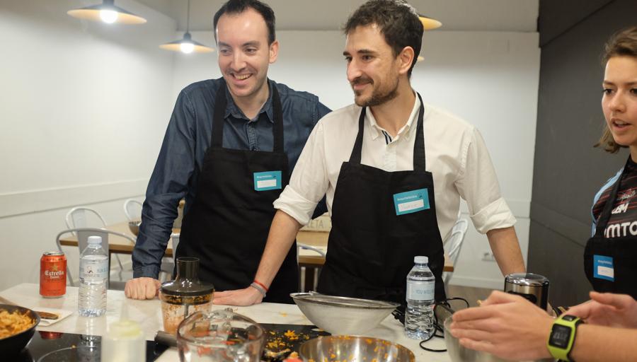 Curso cocina para deportistas Barcelona 20