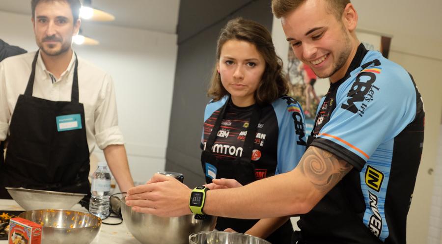 Curso cocina para deportistas Barcelona 17