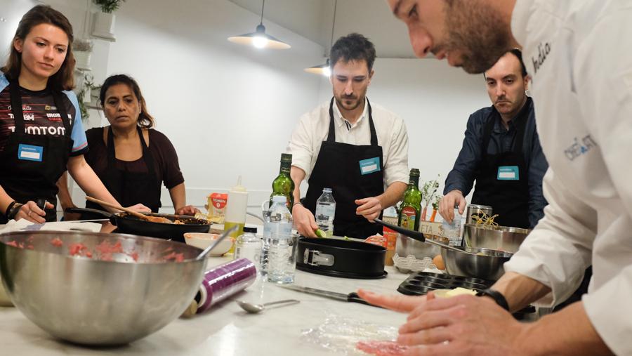 Curso cocina para deportistas Barcelona 14