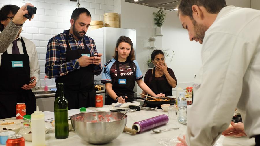 Curso cocina para deportistas Barcelona 12