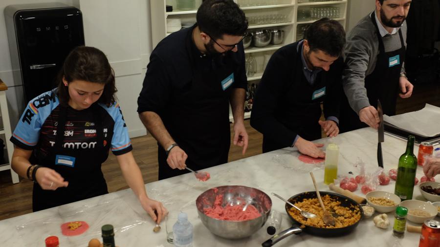 Curso cocina para deportistas Barcelona 9