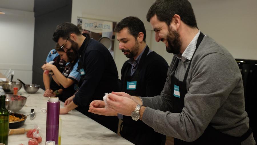 Curso cocina para deportistas Barcelona 7