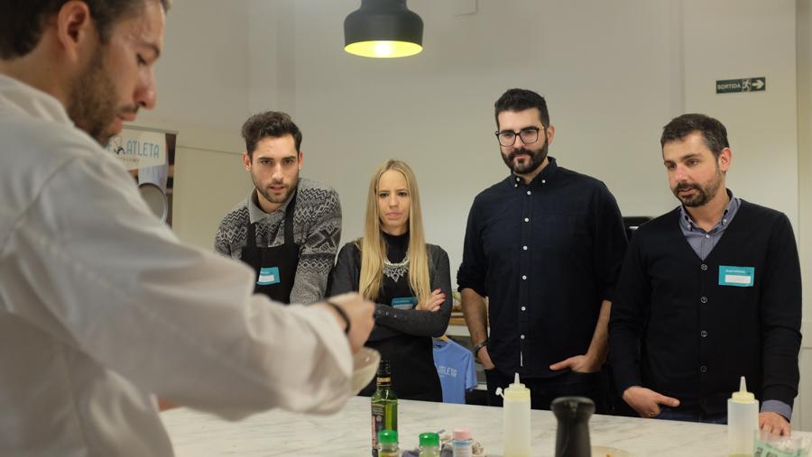 Curso cocina para deportistas Barcelona 10