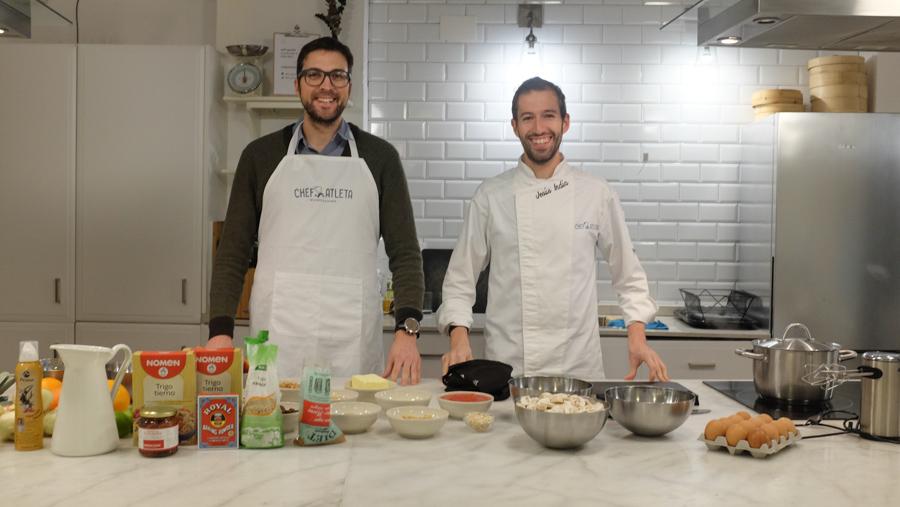 Curso cocina para deportistas Barcelona 1