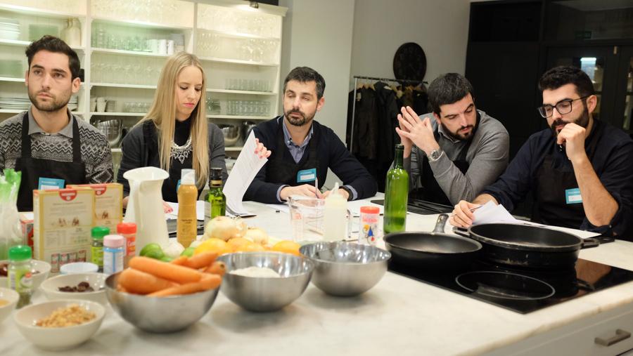 Curso cocina para deportistas Barcelona 4