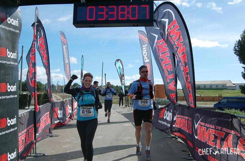 Trail series Zaragoza - Equipo Chefatleta - Meta