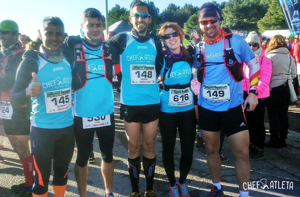 """Comienzan las """"Trail series Zaragoza"""" para el equipo Chefatleta"""