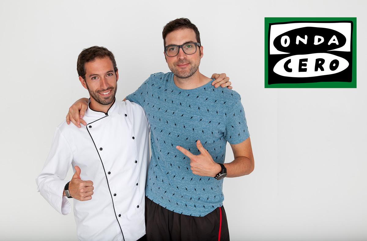 Entrevista para Onda Cero hablando de gastronomía y deporte