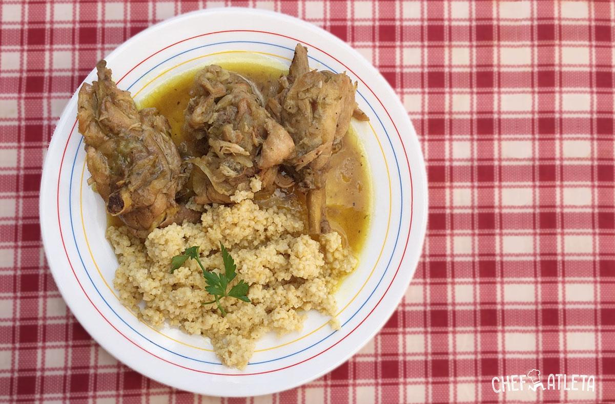 Receta de Guiso de pollo con mijo
