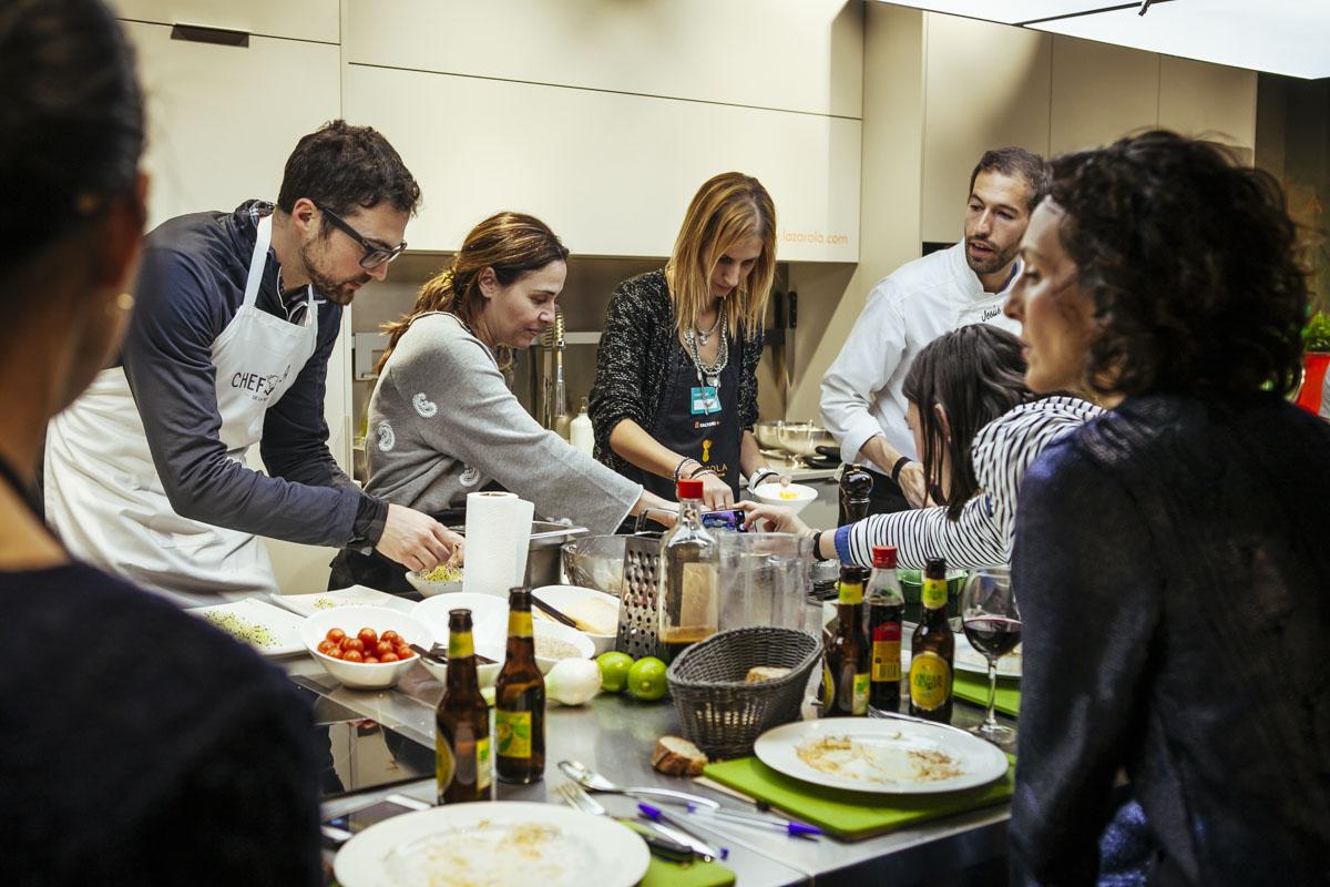 Crónica del Curso Cocina para Deportistas «Come Forrest Come» en Zaragoza