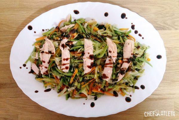 Receta Ensalada templada de verduras con ventresca