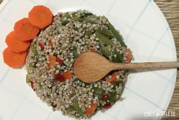 Receta Trigo Sarraceno con Verduras