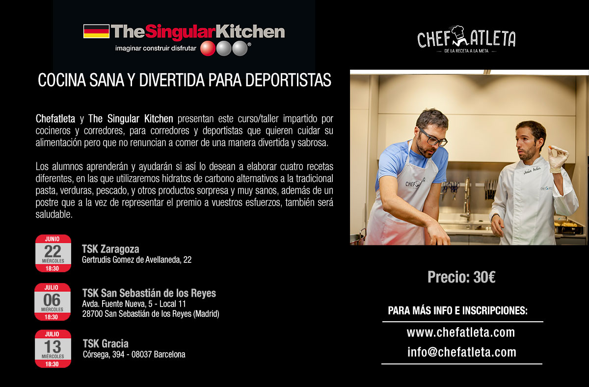 ¡Nos vamos de gira con THE SINGULAR KITCHEN!