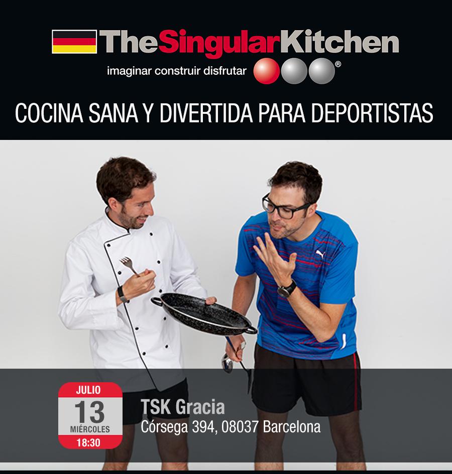 TheSingularKitchen y Chefatleta en Barcelona