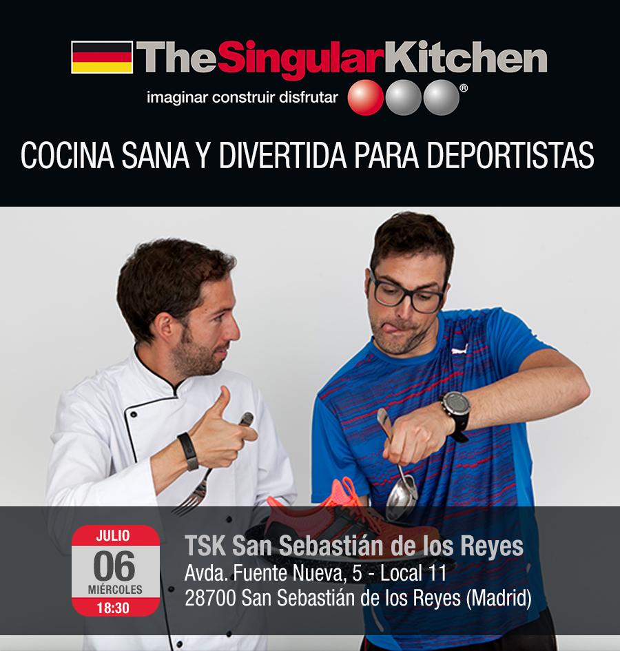 TheSingularKitchen y Chefatleta en Madrid