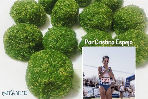 Receta de Albóndigas de quinoa y espinacas, por Cristina Espejo