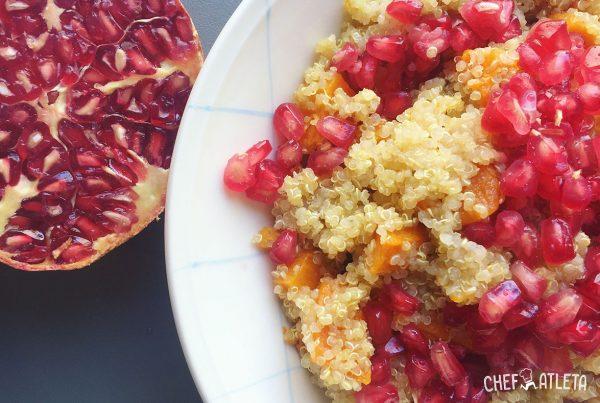 Ensalada Quinoa y Calabaza - Vinagreta